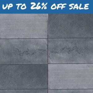 Midnight Bluestone Pavers & Tiles – Flamed Surface